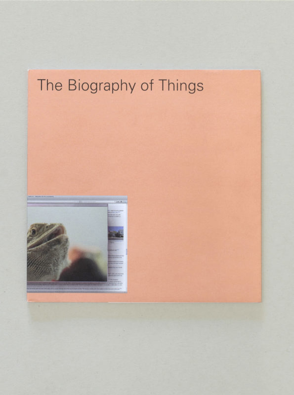 The Biography of Things